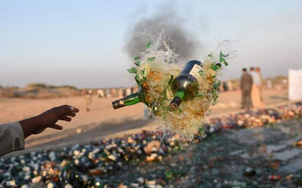 Уничтожение алкоголя