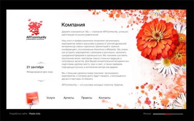 Art Community: очарование цветов