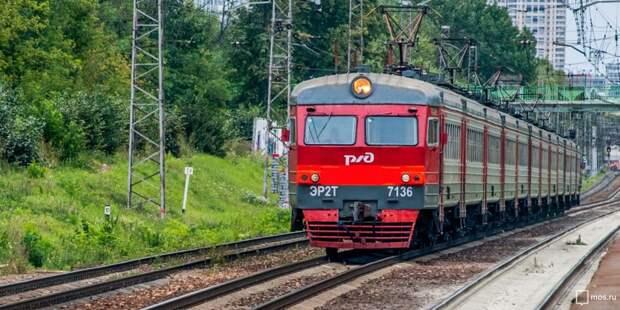 В конце августа изменится расписание ряда электричек Ленинградского направления
