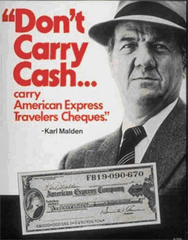 Юбилей рекламы Дорожных Чеков American Express