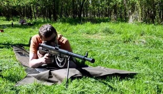 Самое курьезное оружие — ручной пулемет Шоша