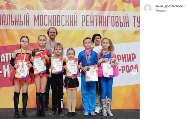На турнире по акробатическому рок-н-роллу спортсмены из Савеловского взяли 12 медалей