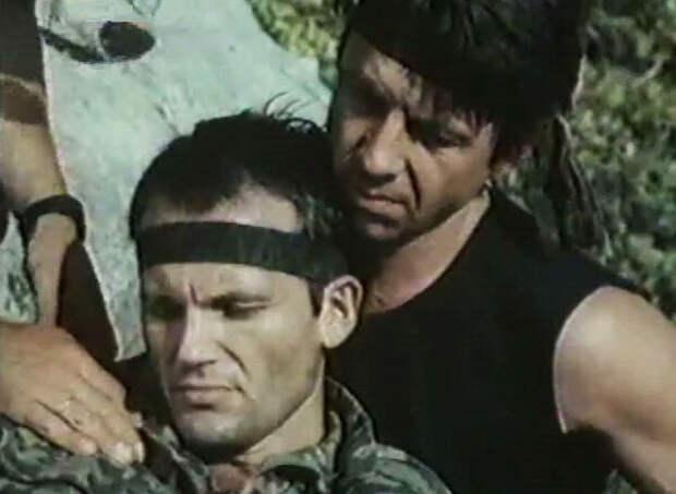 кадр из фильма «Мужская компания», 1992 год