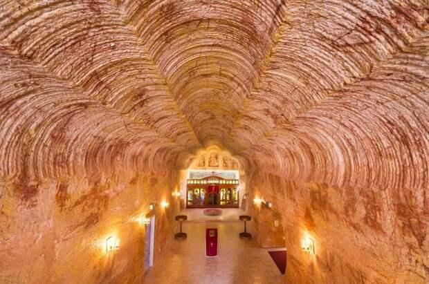 Церковь в подземном городе / Фото: nevsedoma.com.ua
