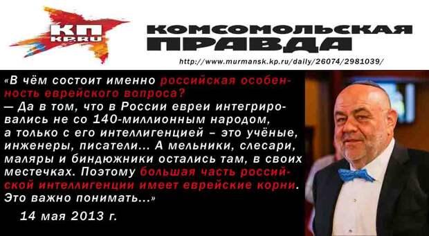 Судьба русского человека находится в еврейских руках!