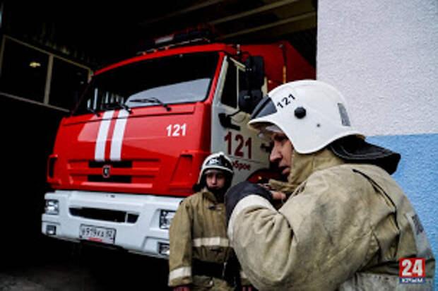 В центре Симферополя горел ресторан