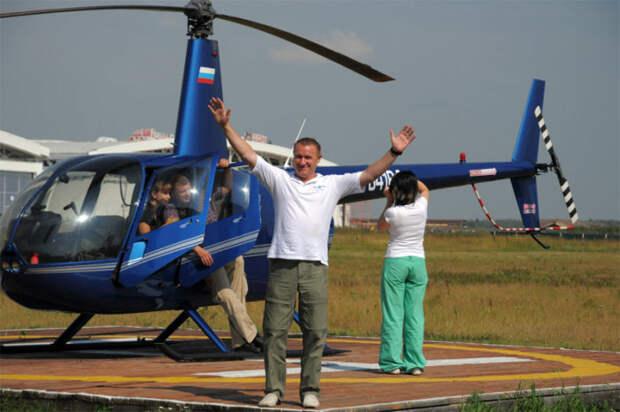 В ТиНАО желающих зовут на вертолетные прогулки по Подмосковью