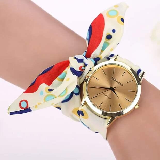 Фото 9  - часы с лентой Твилли.