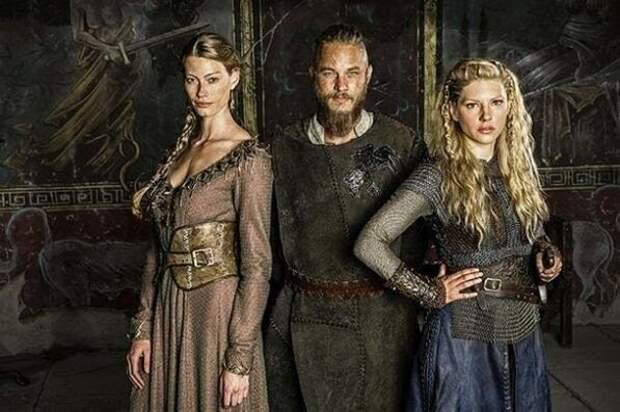 Любимые женщины викинга Лодброка.