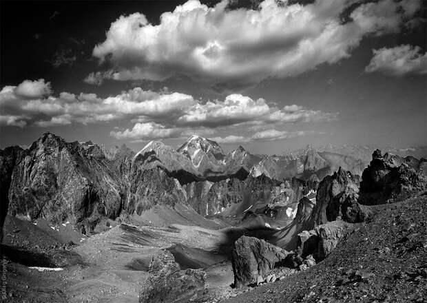 bnwmountains06 Черно белые фотографии гор