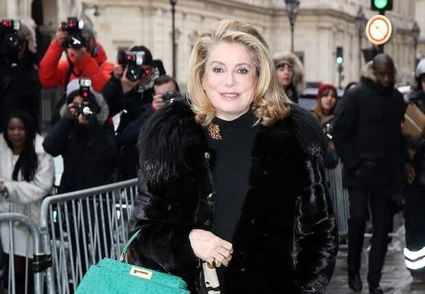 Французские актрисы.