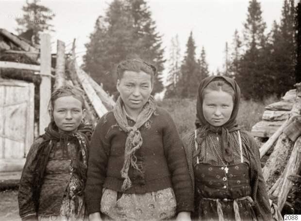 Портретный снимок. Архангельская губерния, 1910 год.