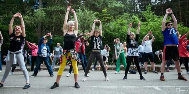 В Ходынском парке возобновили тренировки на свежем воздухе