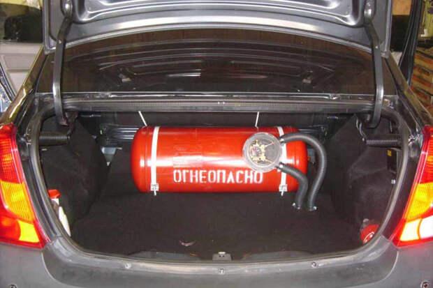 ГИБДД упростила перевод автомобилей на газ в России