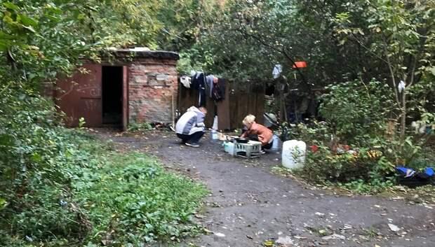 Гетто бездомных в Подольске: почему не получается выселить опасных соседей