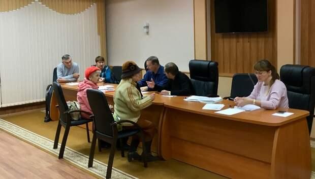 Общественники проконсультировали пенсионерку, на которую напали в Подольске