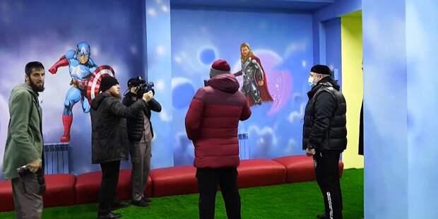 Кадыров потребовал заменить героев Marvel на детских площадках на героев Чечни