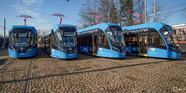 Собянин рассказал о темпах обновления трамвайного парка Москвы. Фото: mos.ru