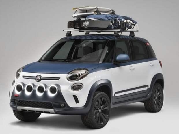 Fiat подготовил внедорожный 500L для серферов