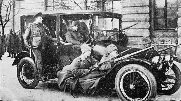 Петроград, март 1917 года