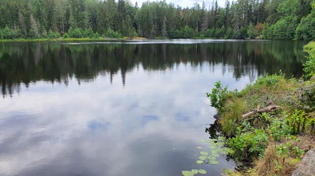 Озера на острове Валаам