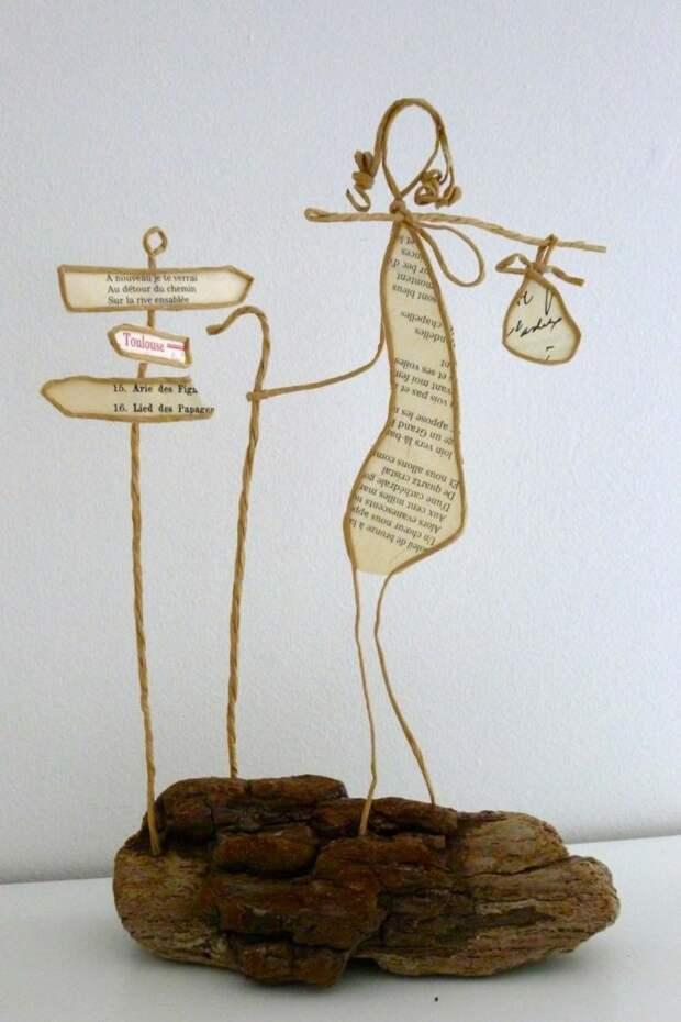Чудесные фигурки из бумажной проволоки — милый подарок для важных событий