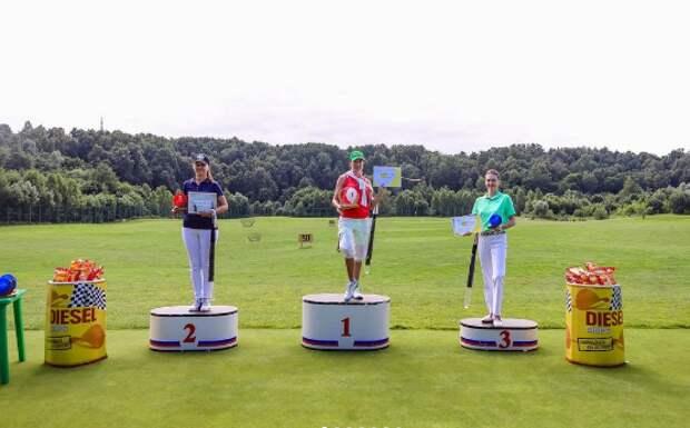 В Куркине прошел турнир по гольфу среди любителей