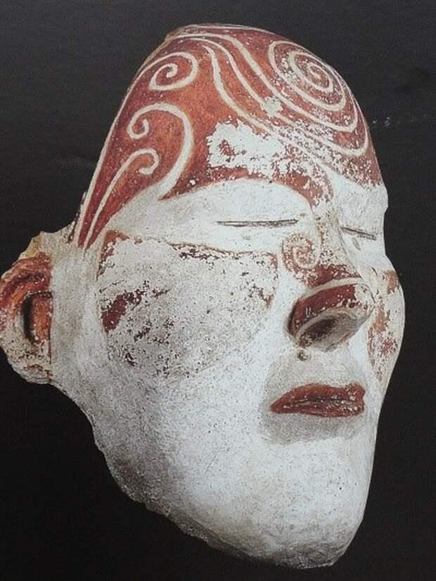Погребальные маски таштыкская культура (II век до н. э. — V век н. э.)