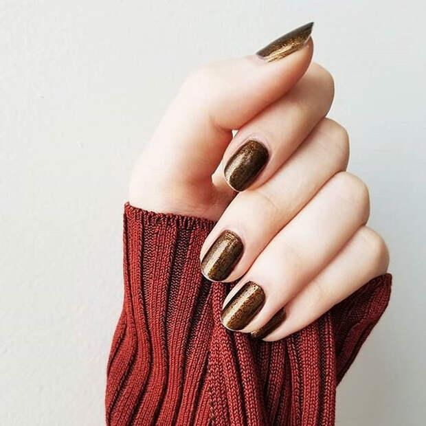 осенние ногти