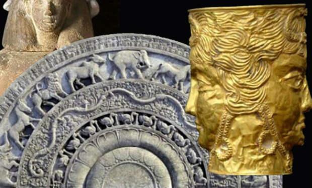 Загадочные артефакты найденные людьми у себя дома