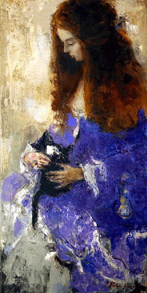 Волнующие женские образы художника Сергея Резниченко