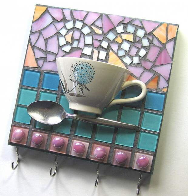 как склеить тарелку чашку