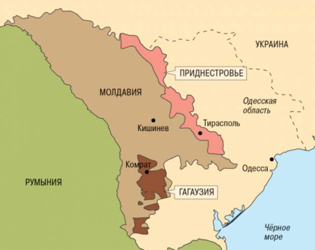 ВСУ перебросили армейские части кгранице сПриднестровьем