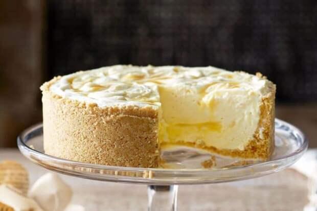 Сырно-сливочный торт
