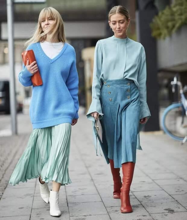 Эффектные сочетания цветов в одежде, которые молодят и всегда в моде