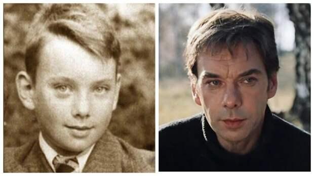 15 известных советских актеров на школьных фото