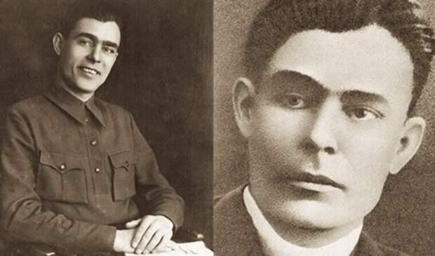 Л. Брежнев в молодости