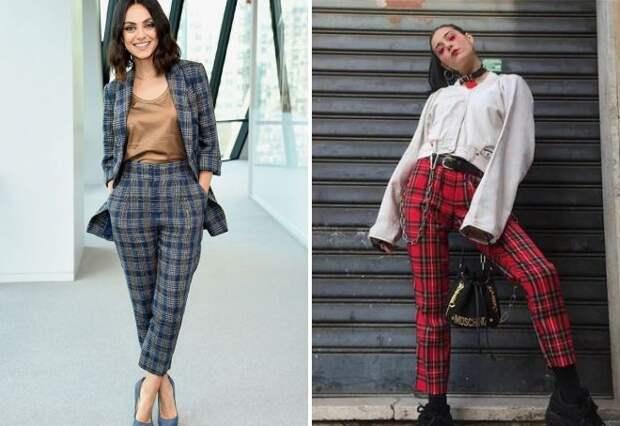 Модные женские брюки, тренды 2021 – клеш, палаццо, скинни, капри и галифе