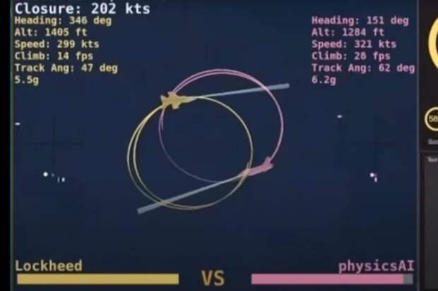 Искусственный интеллект победил летчика ВВС США в виртуальном бою