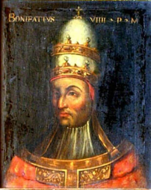 Папа Бонифаций VIII. \ Фото: pinterest.com.