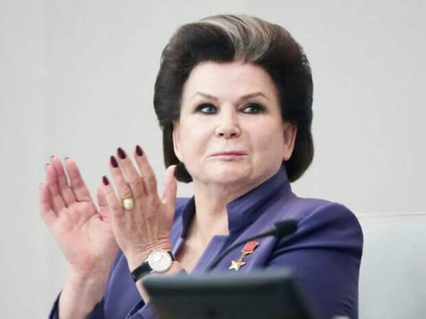 В интернете вспомнили, как Терешкова хвалила брежневскую конституцию