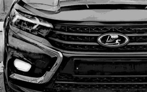 Обновленная Lada Vesta — со светодиодными фарами (ночное видео)