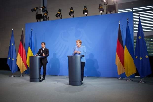 Меркель встретится с Зеленским