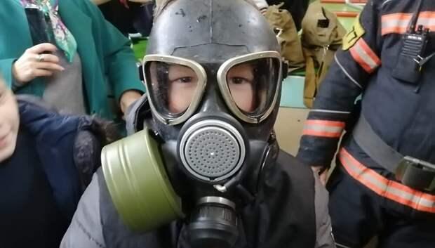 Школьникам Подольска рассказали, как не допустить пожара