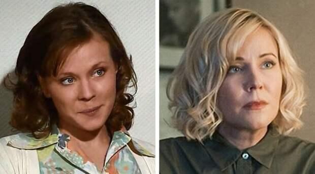 Фото наших актрис в начале карьеры и сейчас