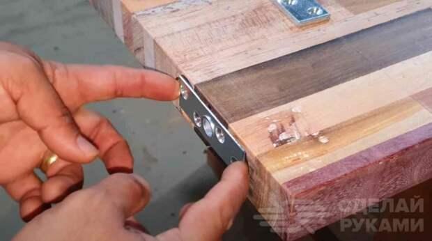 Шикарная дверь из остатков дерева (делаем своими руками)