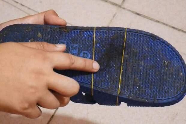 В Китае женщины надевают на комнатные тапочки капроновые чулки. Лайфхак мне понравился, и я периодически использую его дома