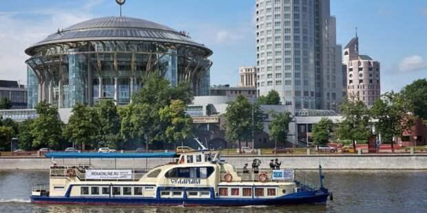 Собянин рассказал о развитии водного транспорта в столице. Фото: М. Денисов mos.ru