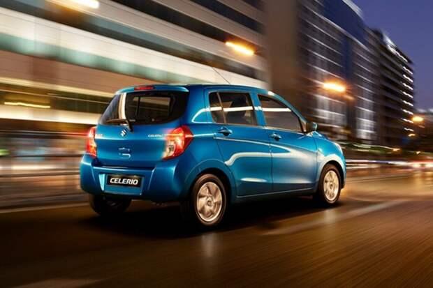 Самую дешевую модель Suzuki показали на фото
