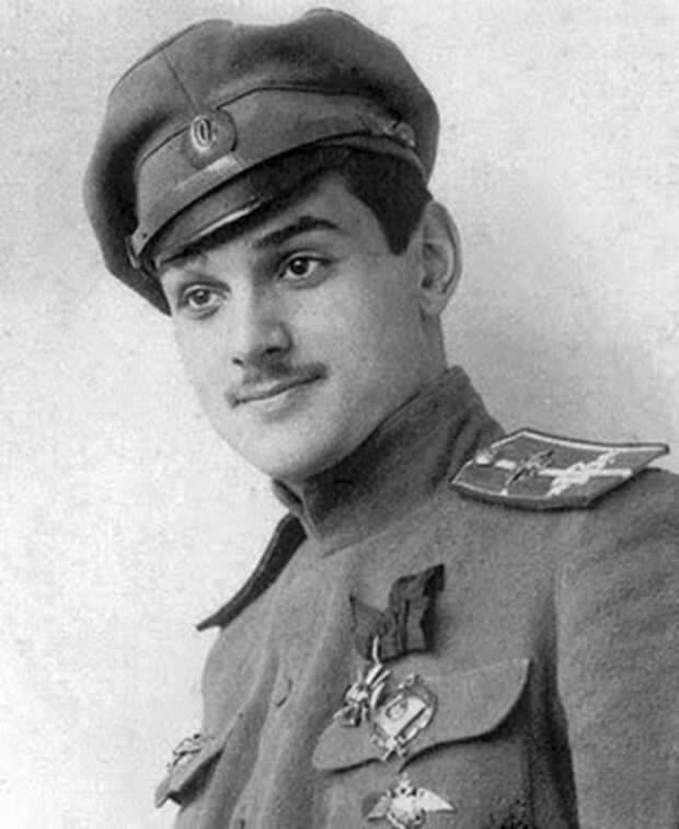 Юрий (Георгий) Владимирович Гильшер — русский лётчик-ас, герой Первой мировой войны./Фото: i.pinimg.com